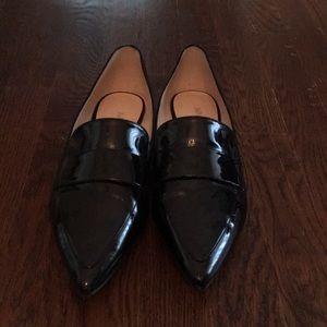 Nine West Patent Leather Flats- Size 10
